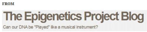 ~~~~TheEpigeneticsProjectBlog1