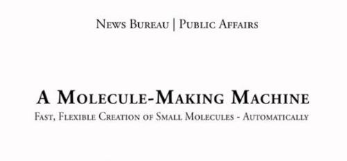 !!!!!NewMoleculeMakingMachine1