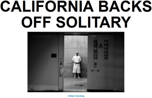 !!!!!BN2015-9-1CALIFORNIA BACKS OFF SOLITARY1