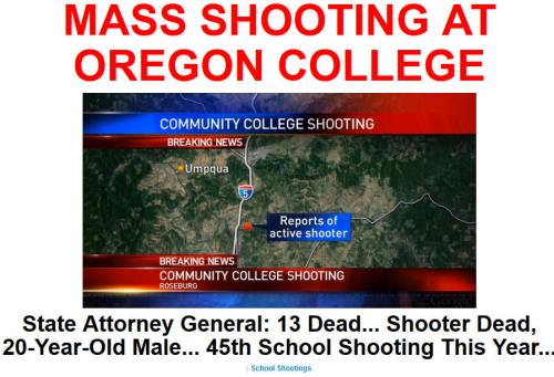 !!!!!BN2015-10-1MASS SHOOTING AT OREGON COLLEGE1