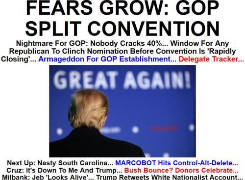 !!!!!BN2016-2-11FEARS GROW- GOP SPLIT CONVENTION